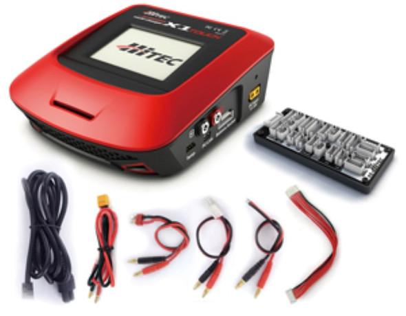 Hitec 44177 X1 Multi Function Touch AC/DC Multi Charger LiPo/LiFe/NiCd/NiMH/Li-Ion