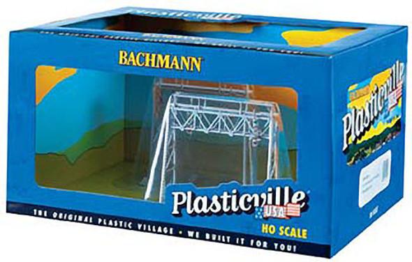 Bachmann Signal Bridge Built-Up HO Train Accessory (2) 45001