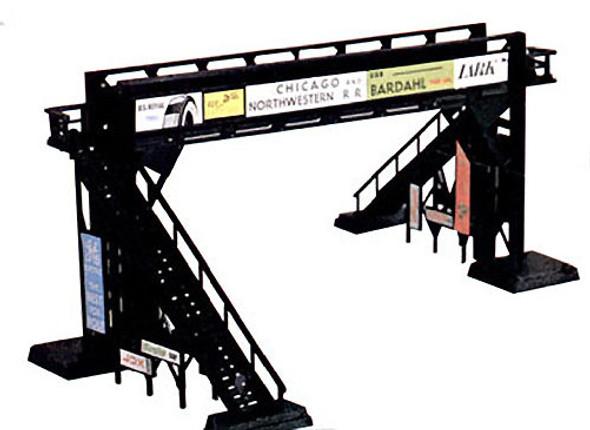 Bachmann 45172 Plasticville Classic Kit Pedestrian Foot Bridge HO Scale