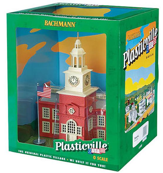 Bachmann Town Hall Built-Up O Train Building 45303