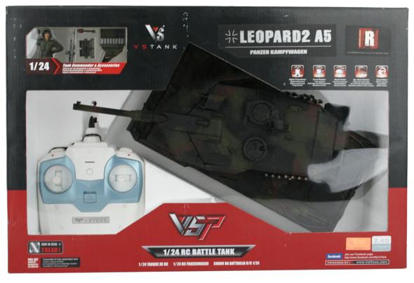 VsTank 1/24 German Leopard 2 A5 Nato 2.4GHz RTR w/ 2.4GHz Radio