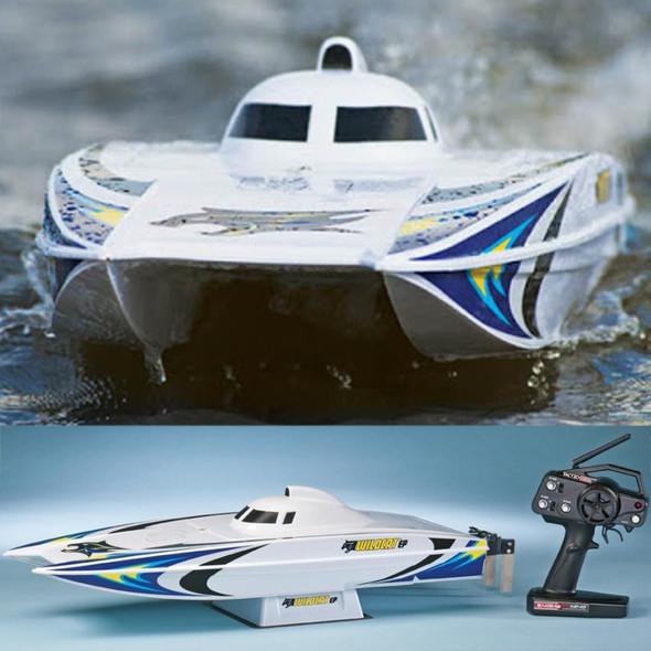 AquaCraft AQUB1810 Wildcat EP Brushless Catamaran Boat RTR w/ Tactic 2.4GHz Radio