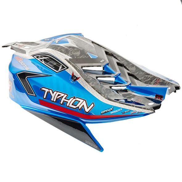 ARRMA AR406118 Blue Body Painted w/Decals : Typhon 6S BLX