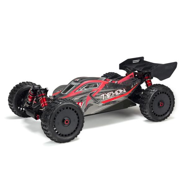 ARRMA ARA106046 1/8 TYPHON 6S BLX 4WD Brushless Buggy RTR Red/Grey