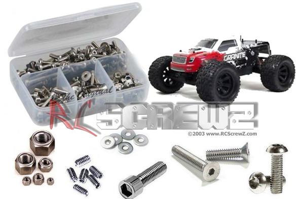 RC Screwz ARRM002 Arrma RC Granite Monster #AR102674/76 Stainless Screw Kit