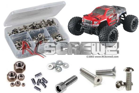 RC Screwz ARRM016 Arrma Granite 4x4 Mega Stainless Screw Kit