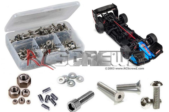 RC Screwz ARA021 Arrma Limitless 4WD 1/7th Onroad Stainless Steel Screw Kit
