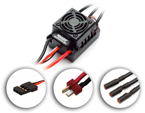 Associated 29185 Reedy SC600-BL Sensorless Brushless ESC: B4.2/ T4.2/ T4.3 / SC10