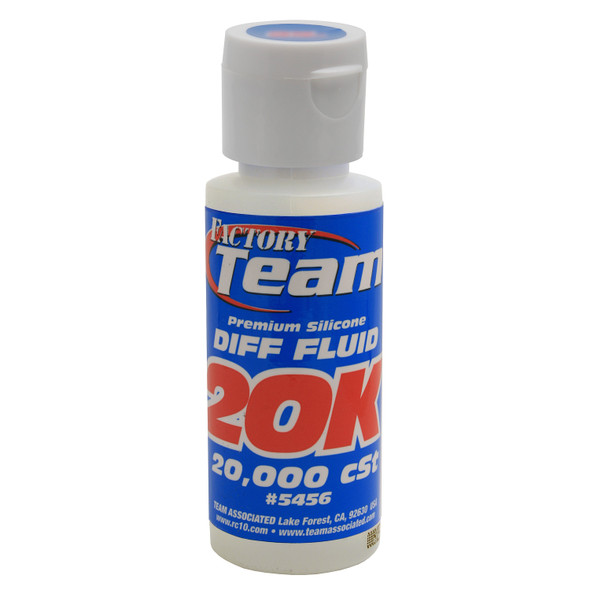 Associated 5456 2oz Silicone Diff Fluid / Differential Oil 20,000 cSt