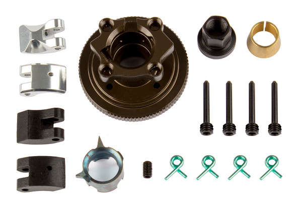 Associated 81420 FT 4-Shoe Adjustable Clutch System : RC8 /RC8.2/RC8B/RC8B3