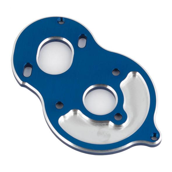 Associated 91794 Standup Motor Plate Blue Aluminum : B6.1 / B6.1D / SC6.1 / T6.1