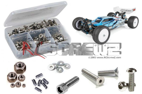 RC Screwz ASS100 Associated RC10B74 1/10th Buggy Stainless Steel Screw Kit