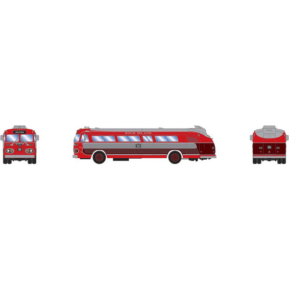 Athearn ATH17385 Intercity Bus Rock Island Owatonna #B1005 N Scale