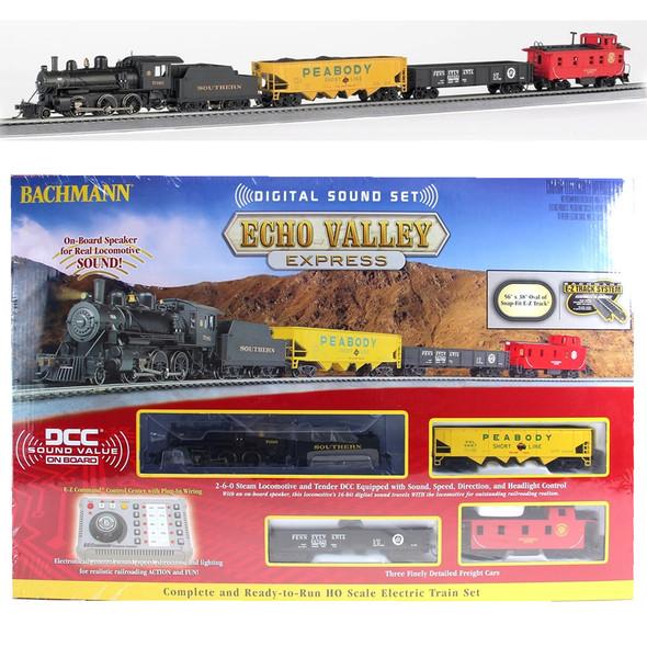 Bachmann 00825 Echo Valley Express Electric Train Set w/Digital Sound Set  HO Scale