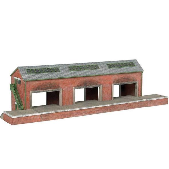 """Bachmann 35904 Brendam Warehouse Thomas & Friends Kit 18 x 5-3/8 x 4-3/4"""" HO Scale"""