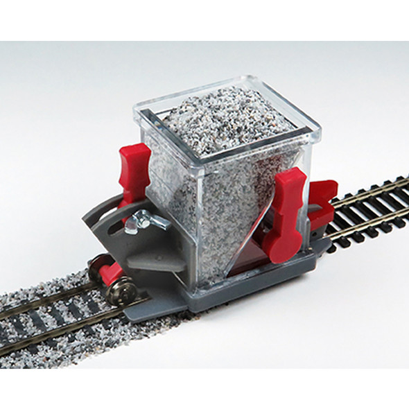 Bachmann 39016 Ballast Spreader w/ Shutoff and Height Adjustment HO Scale