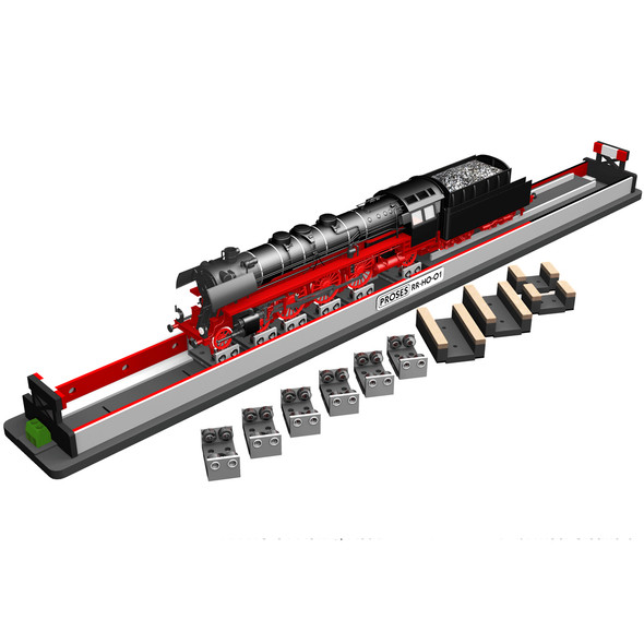 Bachmann 39024 Rolling Road w/ Rollers and Wheel Cleaners HO Scale