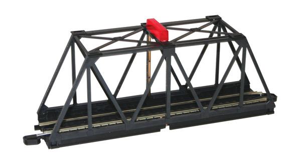 Bachmann 44473 E-Z Track Truss Bridge with Blinking Light HO Scale