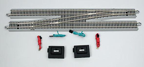 Bachmann #6 Remote Switch Left-Hand w/ 2 Controllers Nickel Silver Rail E-Z HO