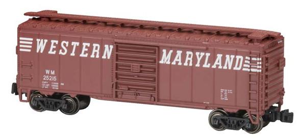 Bachmann HO 41' Box Car Western Maryland BAC70087
