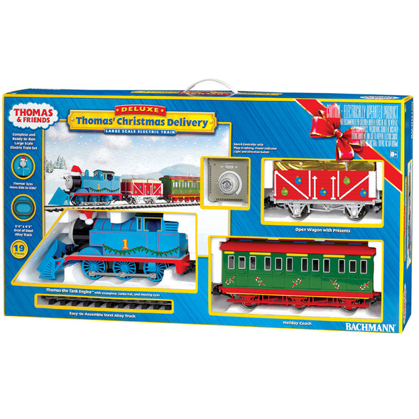 Bachmann 90087 Thomas' Christmas Delivery Large Scale Train Set
