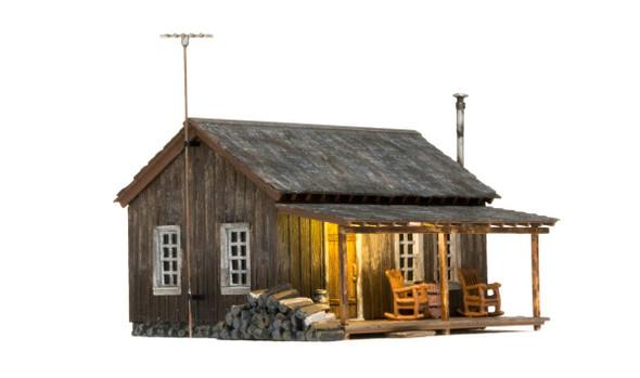 Woodland Scenics BR5869 Rustic Cabin O Scale