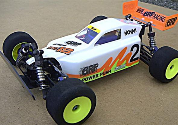 BRP BRP631 DA Buggy Clear Body RC18T RC18MT