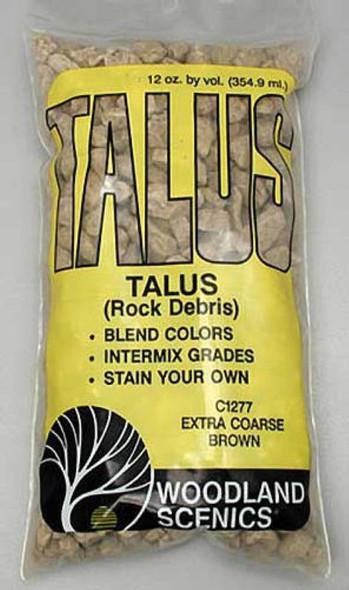 Woodland Scenics Talus Extra Coarse Brown C1277