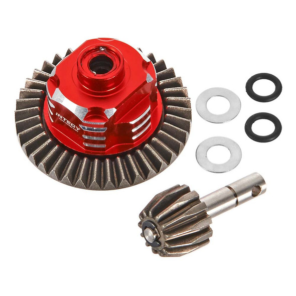 Metal Gear Differential Set Axial Wraith / SCX-10 Dingo / Honcho C26360RED