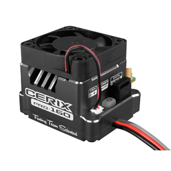 Corally C-53003-1 Cerix PRO Black 2-3S BL ESC : 1/10 Sensored & Sensorless Motors 160A