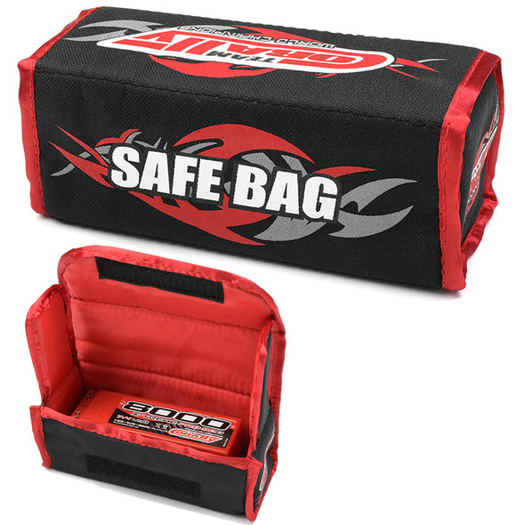 Corally C-90242 Lipo Safe Bag for 2 Pcs 2S Hard Case Battery Packs