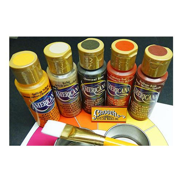 Chooch Americana 511 Weathering First Coats Acrylic Paint 5 Color Set (Each 2oz)