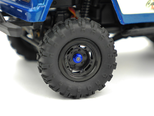 Carisma 16094 Wheel Lock Nut Set Blue : MSA-1E
