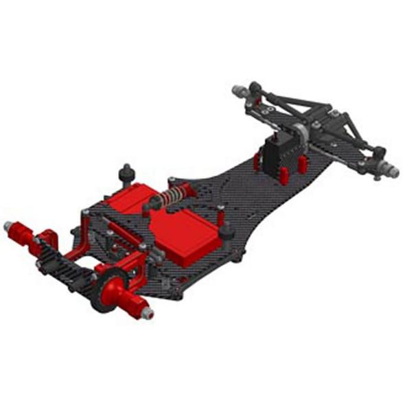 CRC 1501 1/10 WTF1 - FC16 Formula 1 Car Kit