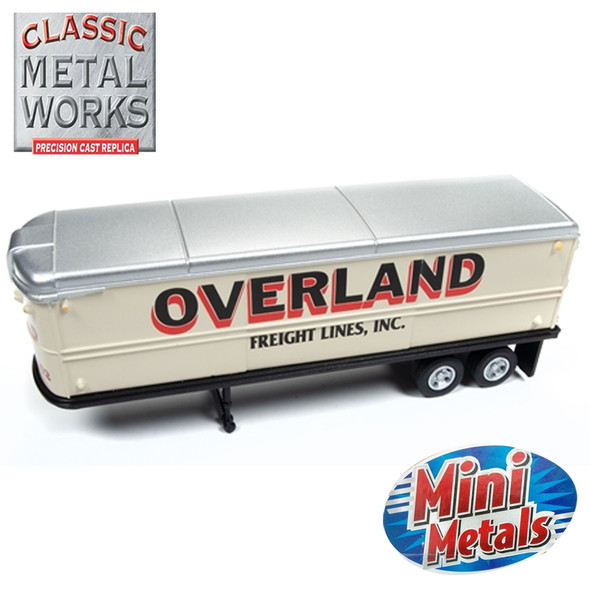 Classic Metal Works 31180 AeroVan Trailer Overland Freight 1:87 HO Scale