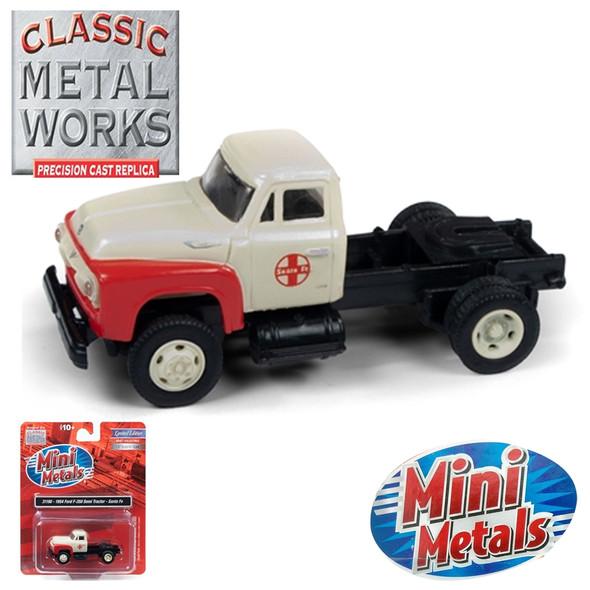 Classic Metal Works 31190 1954 Ford F-350 Semi Tractor Santa Fe 1:87 HO Scale