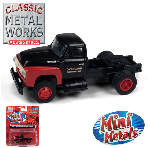 Classic Metal Works 31191 1954 Ford F-350 Semi Tractor Overland 1:87 HO Scale