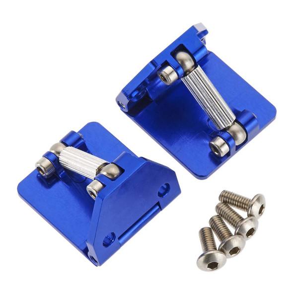 Hot Racing DCB311AR06 Aluminum Adjustable Trim Tabs (2) Blue DCB M41