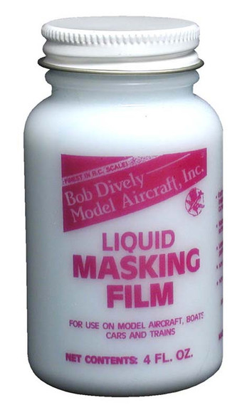 Bob Dively Liquid Masking Film 4 oz div3000