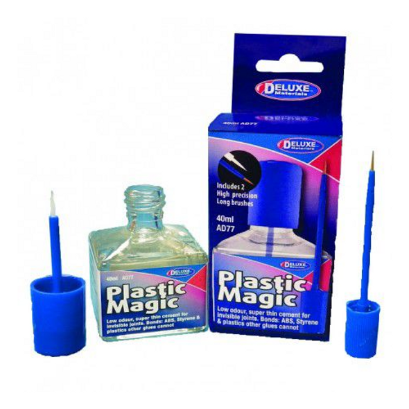 Deluxe Materials AD77 Plastic Magic Adhesive 40ml