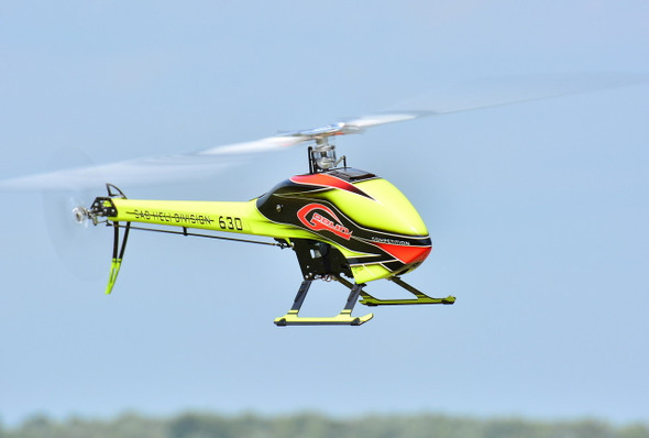 SAB Goblin 630 Competition Green Helicopter Kit SG632