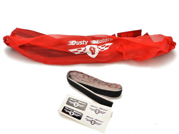 Dusty Motors Protection Dust Cover - Red : Arrma Senton