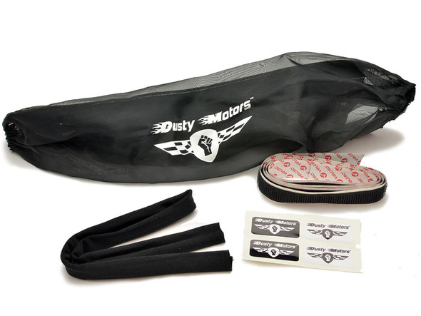 Dusty Motors Protection Dust Cover - Black : Traxxas Stampede 4x4 / Rustler 4x4