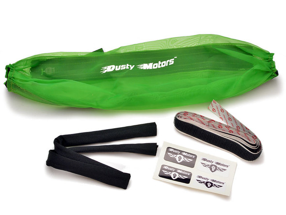 Dusty Motors Protection Dust Cover - Green : Traxxas Stampede 4x4 / Rustler 4x4