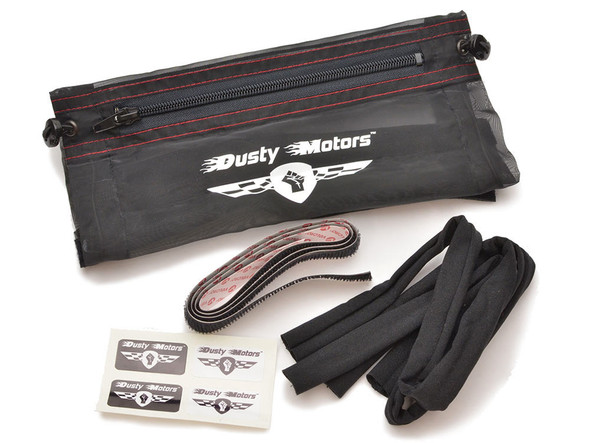 Dusty Motors Universal Adjustable Protection Dust Cover - Large