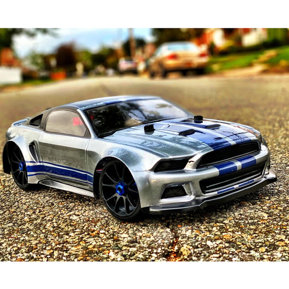 Delta Plastik USA 0175 Mustang 1/8 310 mm GT RC Car Clear Body 2.0mm Thick