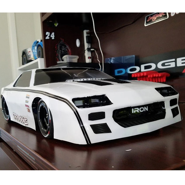 Delta Plastik USA 0179 ZGT28 1/8 GT RC Car Clear Body 2.0mm Thick