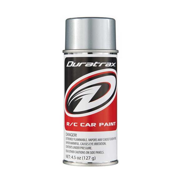 Duratrax PC262 Polycarbonate Spray Paint Silver Streak 4.5 oz RC Trucks/Cars Bodies