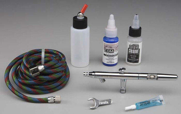 Iwata Medea Eclipse HP-BCS Airbrush with Bottle & Hose ECL2001