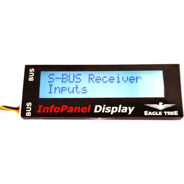 Eagle Tree Systems InfoPanel LCD Display ETR00624